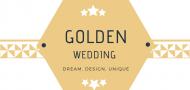 Golden wedding label CTevent